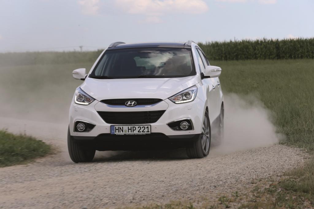 Seit der Markteinführung 2010 hat Hyundai von seinem Kompakt-SUV ix35 rund 50.000 Exemplare in Deutschland verkauft.