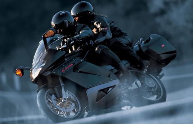 Sicher Motorradfahren im Herbst