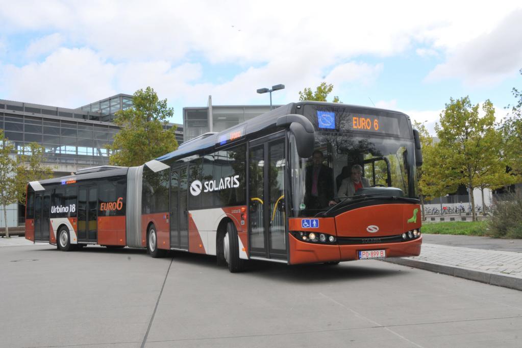 Stadtbus Solaris: Bereit für Euro 6