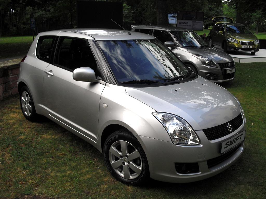 Suzuki Swift, hier die dritte Generation ab 2005.