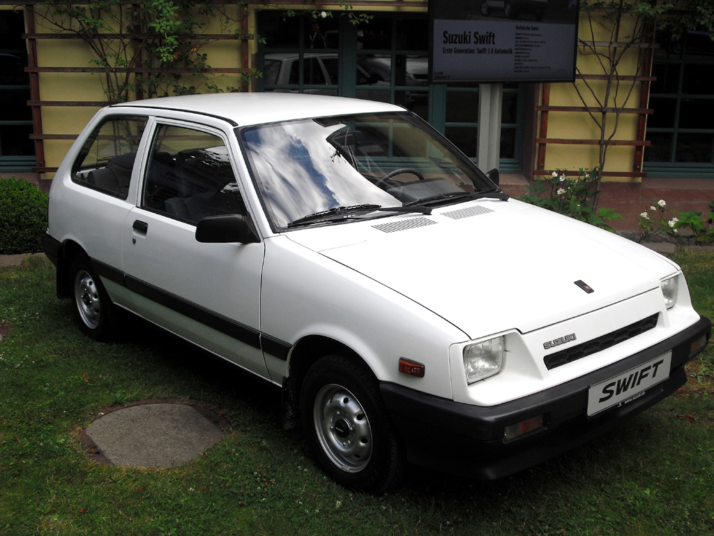 Suzuki Swift, hier die erste Generation ab 1983.
