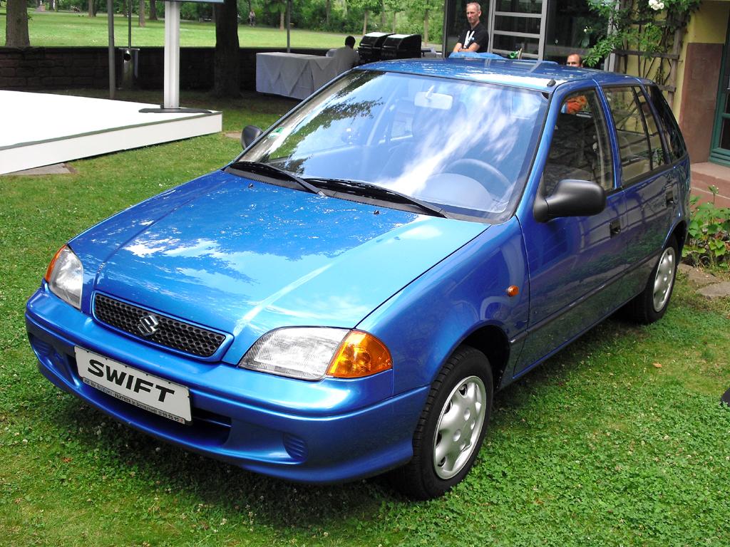 Suzuki Swift, hier die zweite Generation ab 1989.