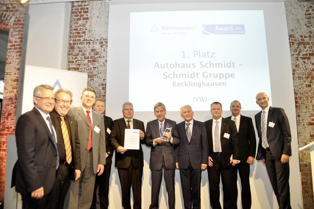 TÜV Rheinland attestiert VW beste Kundenzufriedenheit
