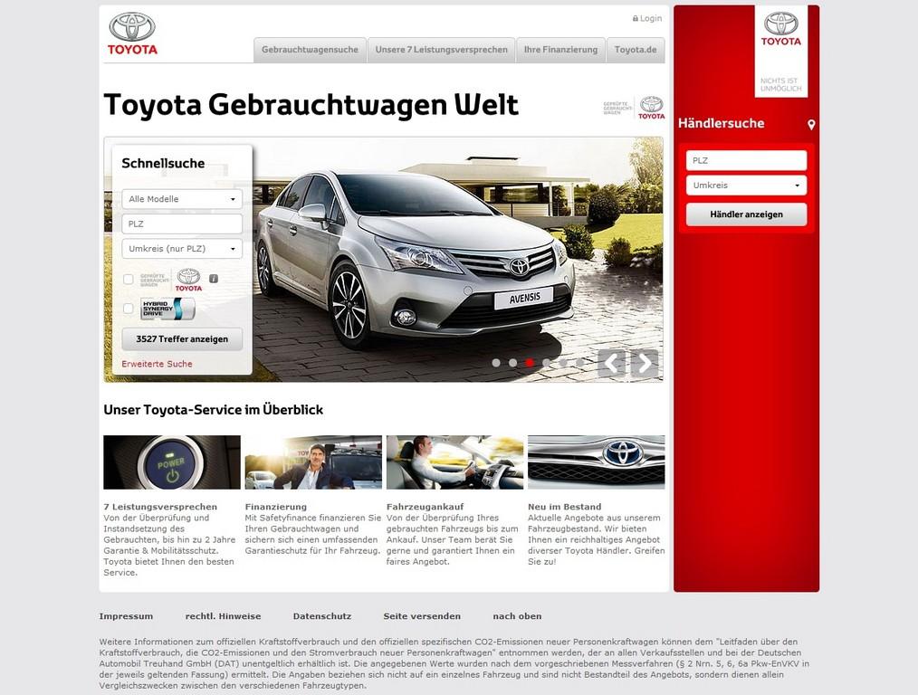 Toyota startet