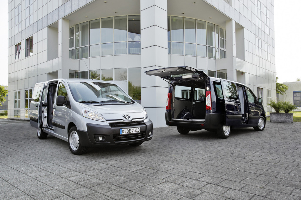 Toyota startet den Proace-Verkauf