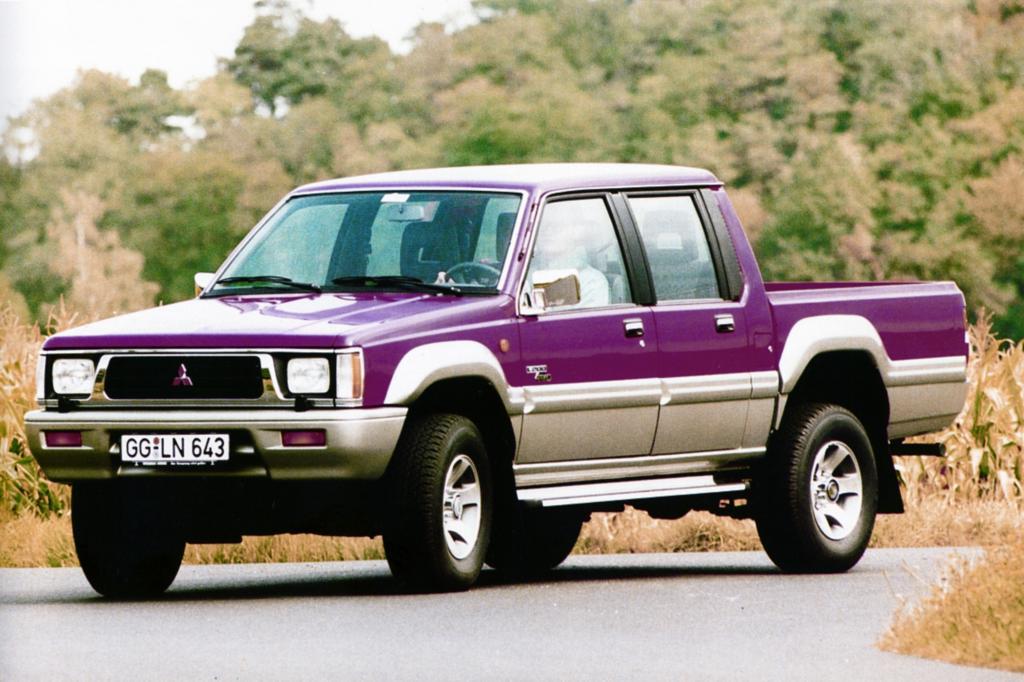 Tradition: 20 Jahre Mitsubishi L 200 - Mit Lust an der Last über Stock und Stein