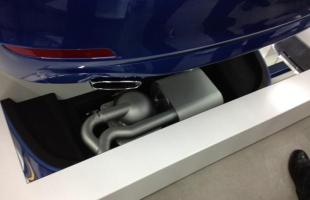 Vierzylindermotor mit Achtzylinder-Sound