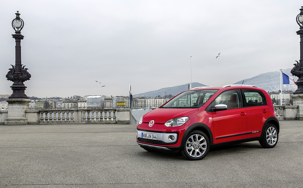 Volkswagen Cross Up - Hoch hinaus