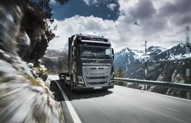 Volvo Trucks zieht um sechs Prozent an