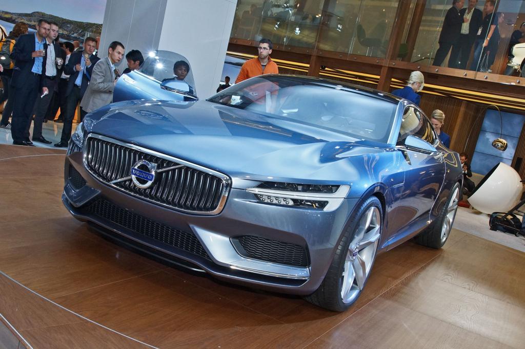 Volvo gibt mit dem Concept Coupe einen Ausblick auf seine künftige Design-Linie