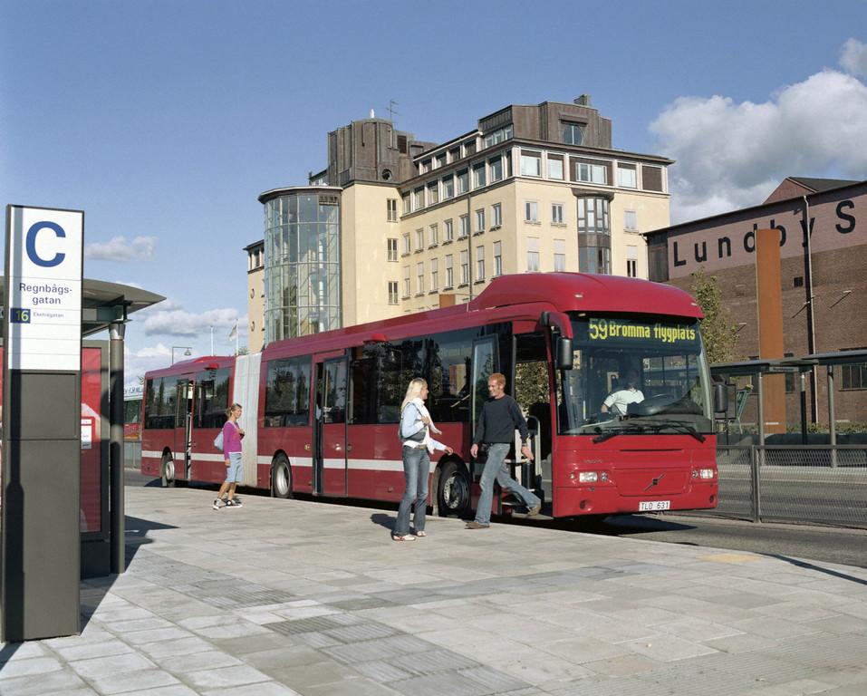 Volvo modernisiert rund 100 Gelenkbusse