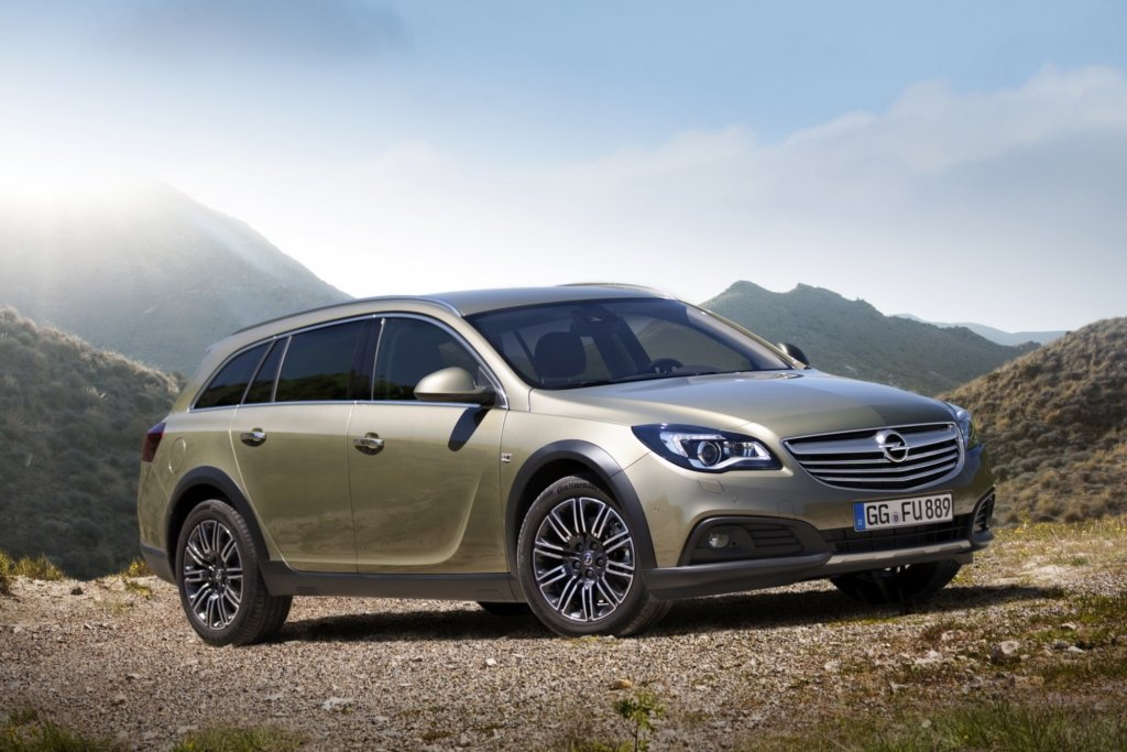 Vorabbericht: Opel Insignia Country Tourer - Kerniger Kombi
