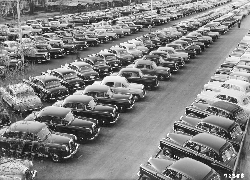 Wie der Ponton-Daimler zum Erlkönig wurde