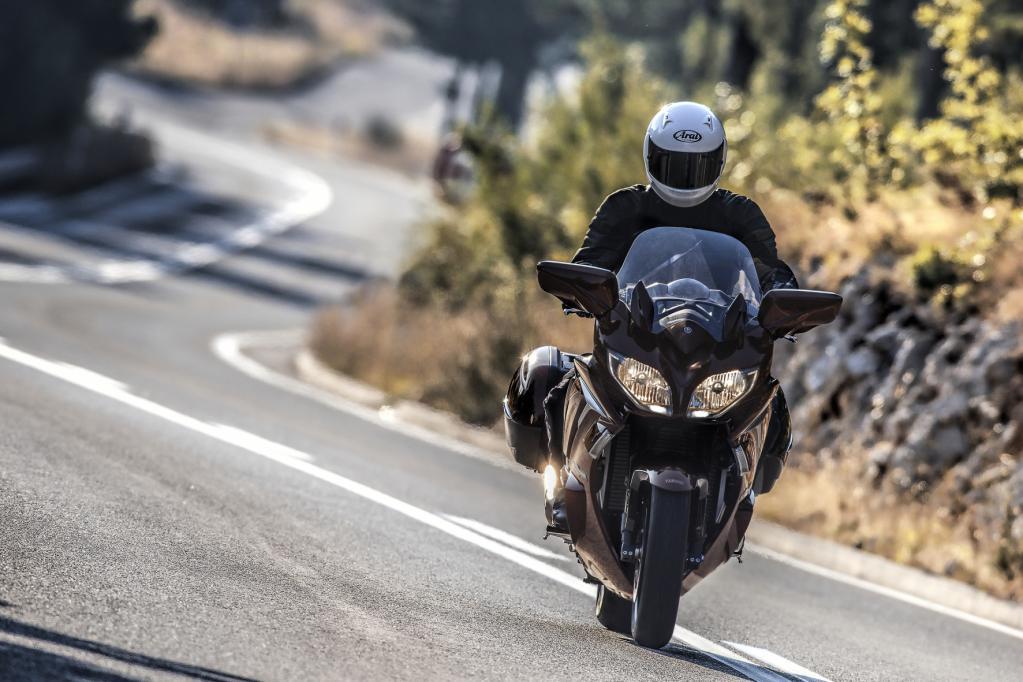 Yamaha Reise-Motorrad mit neuer Modellvariante