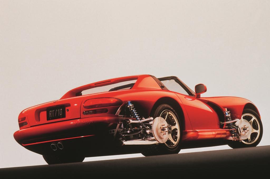 ie Viper ist wohl der einzige Supersportwagen, der von einem Lkw-Motor angetrieben wurde