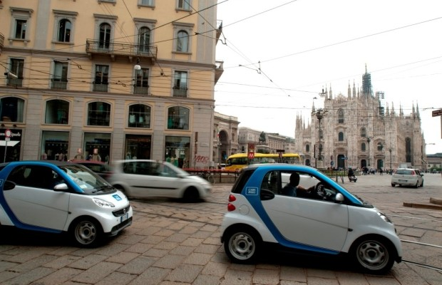 50 000 Car2go-Kunden in Mailand