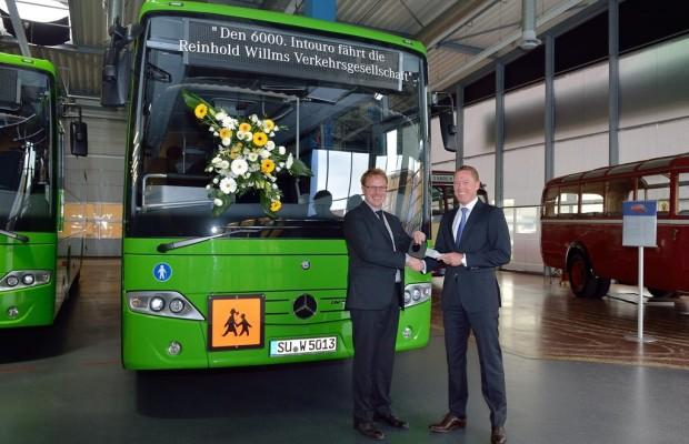 6000ster Mercedes-Benz Intouro ausgeliefert