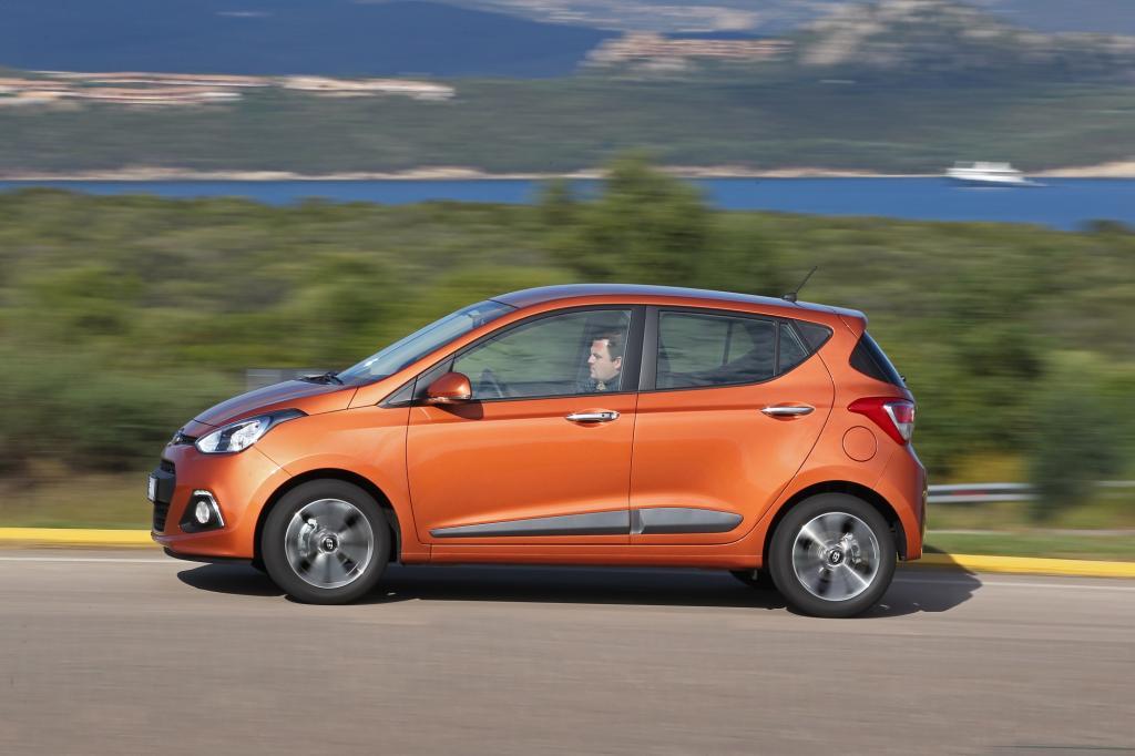 Attraktiv erscheint mit 9.950 Euro der Grundpreis, den Hyundai gegenüber dem Vorgänger sogar um 440 Euro gesenkt hat.