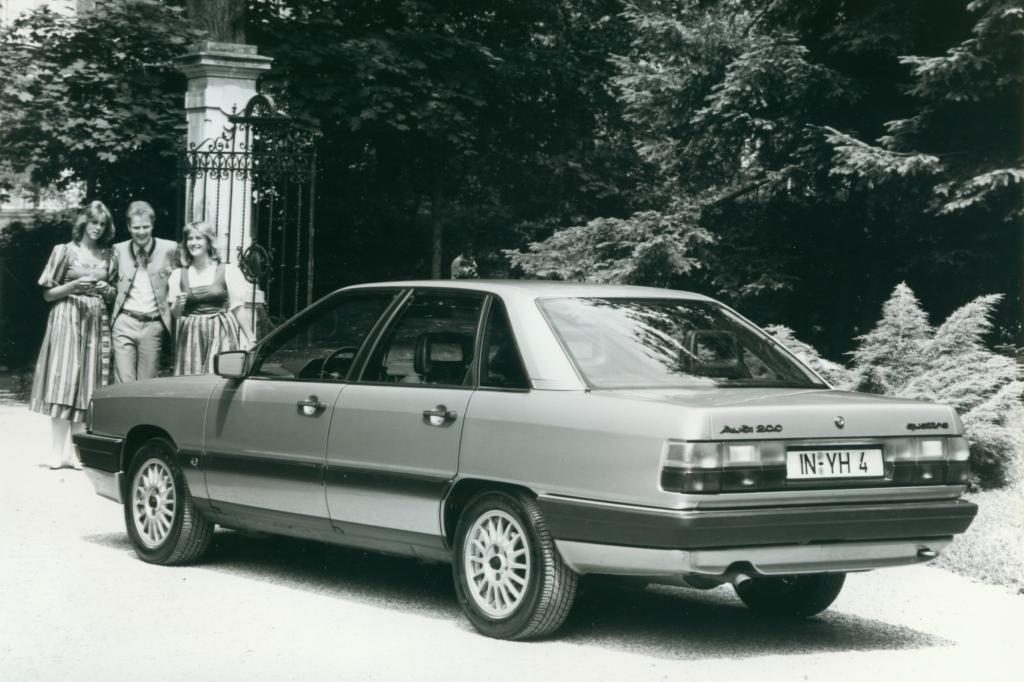 Audi 200 quattro ab 1986