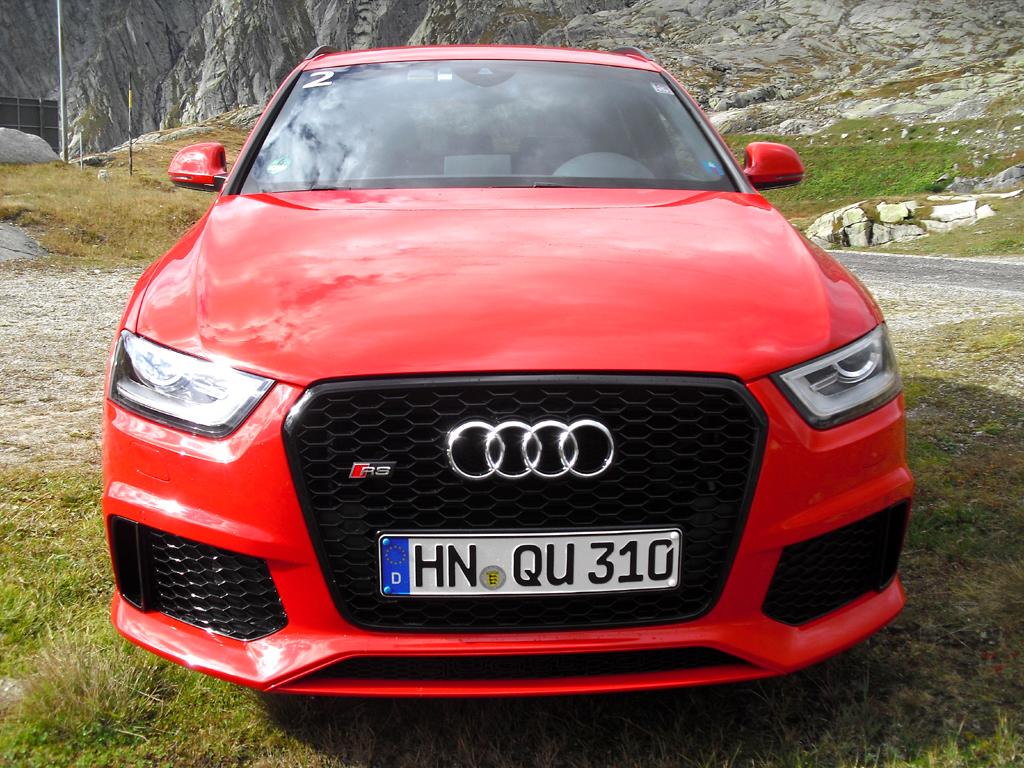 Audi RS Q3: Blick auf die Frontpartie.