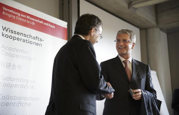 Audi kooperiert mit Universität St.Gallen