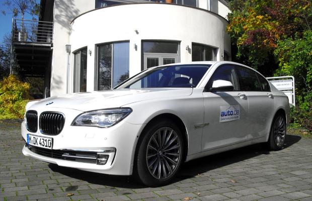 Auto im Alltag: BMW 7er