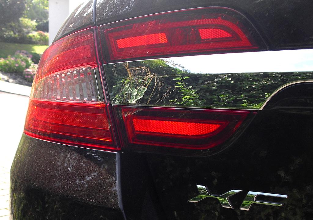 Auto im Alltag: Jaguar XF