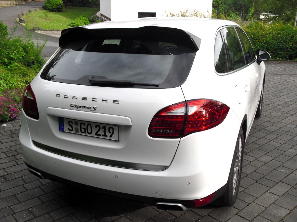 Auto im Alltag: Porsche Cayenne