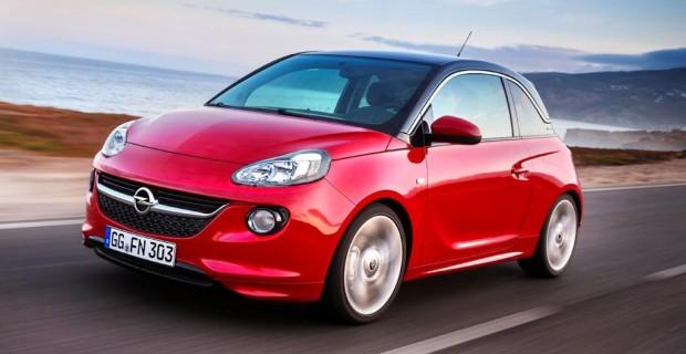 Beim Opel Adam ist schwarz-rot die beliebteste Farbkombi