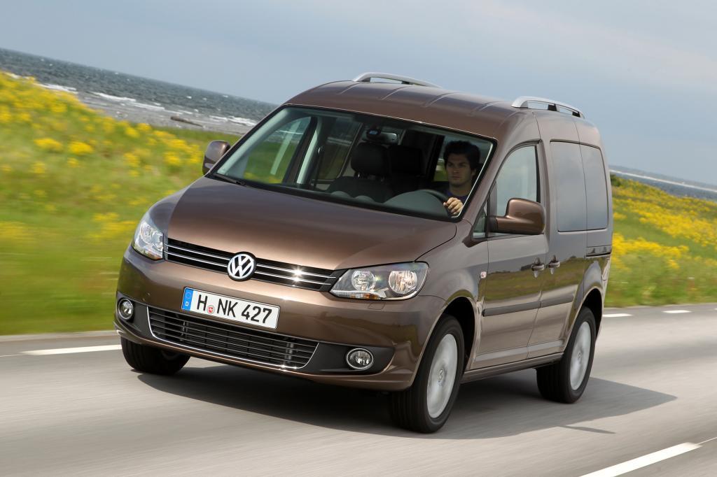 Beim Platzangebot ist der VW Caddy kaum zuschlagen, die TÜV-Prüfer allerdings sind nicht immer so zufrieden mit dem Hochdachkombi