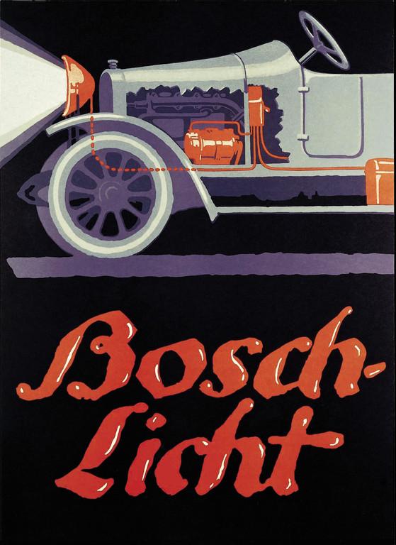 Bosch versorgt Autos seit 100 Jahren mit Strom
