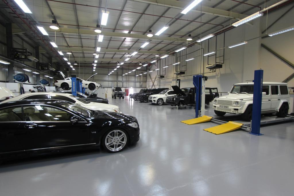Brabus zieht um und plant einen neuen Showroom direkt an der Seikh-Zayed-Road, der schillernden Automeile von Dubai.