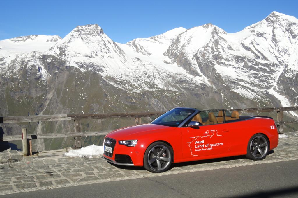 Cabrio Audi RS 5: 450 PS für den perfekten Tag