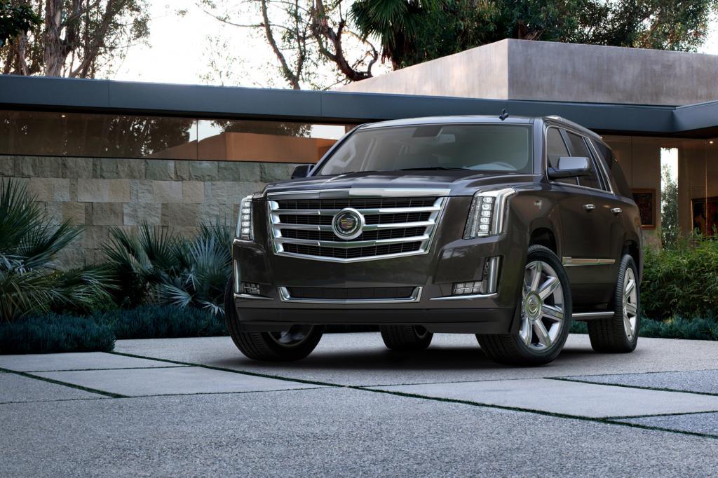 Cadillac hat den Escalade im Gepäck