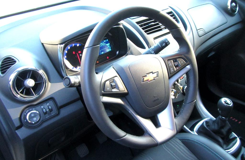 Chevrolet Trax: Blick ins Cockpit.