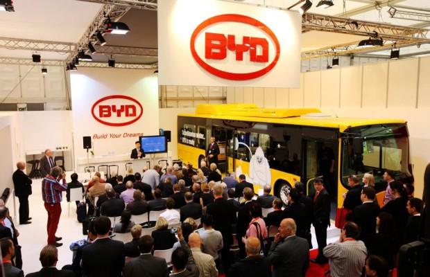 Chinesischer Autobauer BYD plant Buswerk in Europa