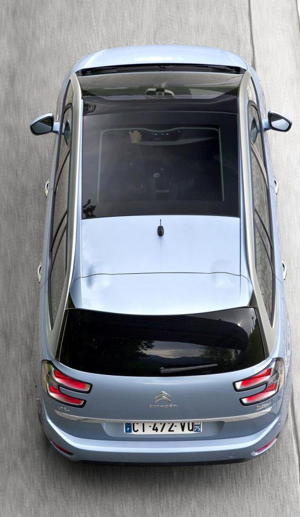 Citroën Grand C4 Picasso: Viel Glas sorgt innen für eine freundlichere Atmosphäre.