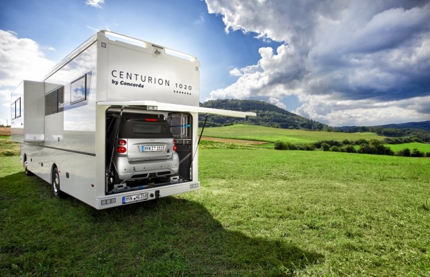 Concorde Centurion mit Slide-Out und Smart-Garage