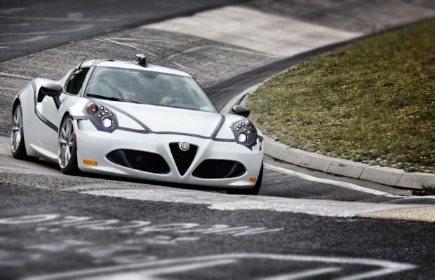 Der Alfa Romeo 4C maß sich erfolgreich an der Nordschleife