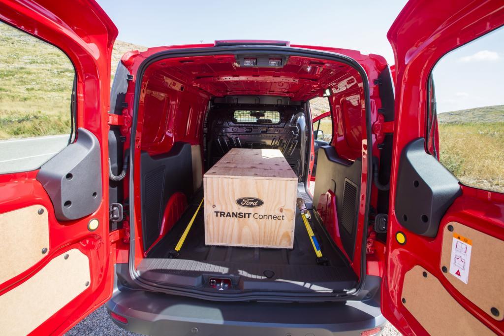 Der Transporter, der auf der Focus-Plattform aufgebaut ist, bietet seinen Kunden einige attraktive Neuerungen