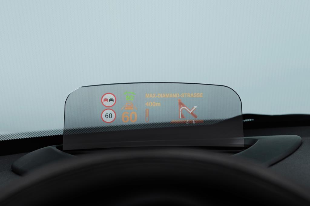 Der neue Mini soll ein Head-up-Display bekommen