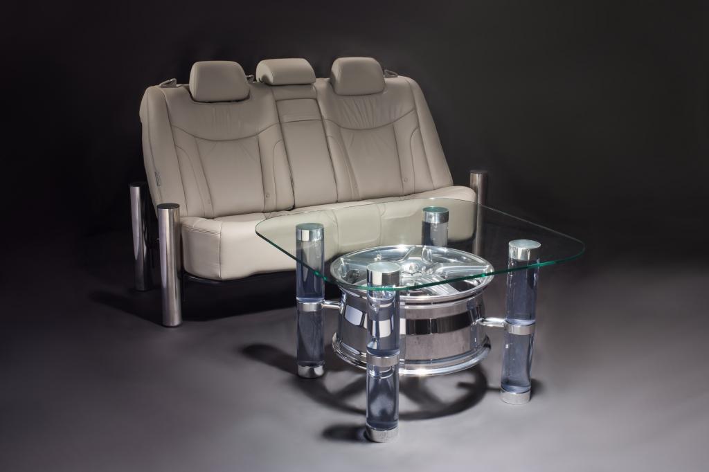 Diese Sitzbank bestückte in ihrem früheren Leben einen Hyundai