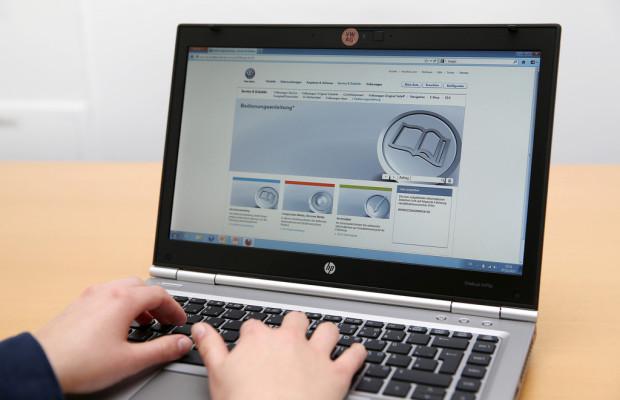 Digitale Bedienungsanleitungen von VW jetzt online