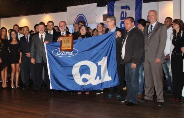 Faurecia erhält Qualitäts-Preis von Ford