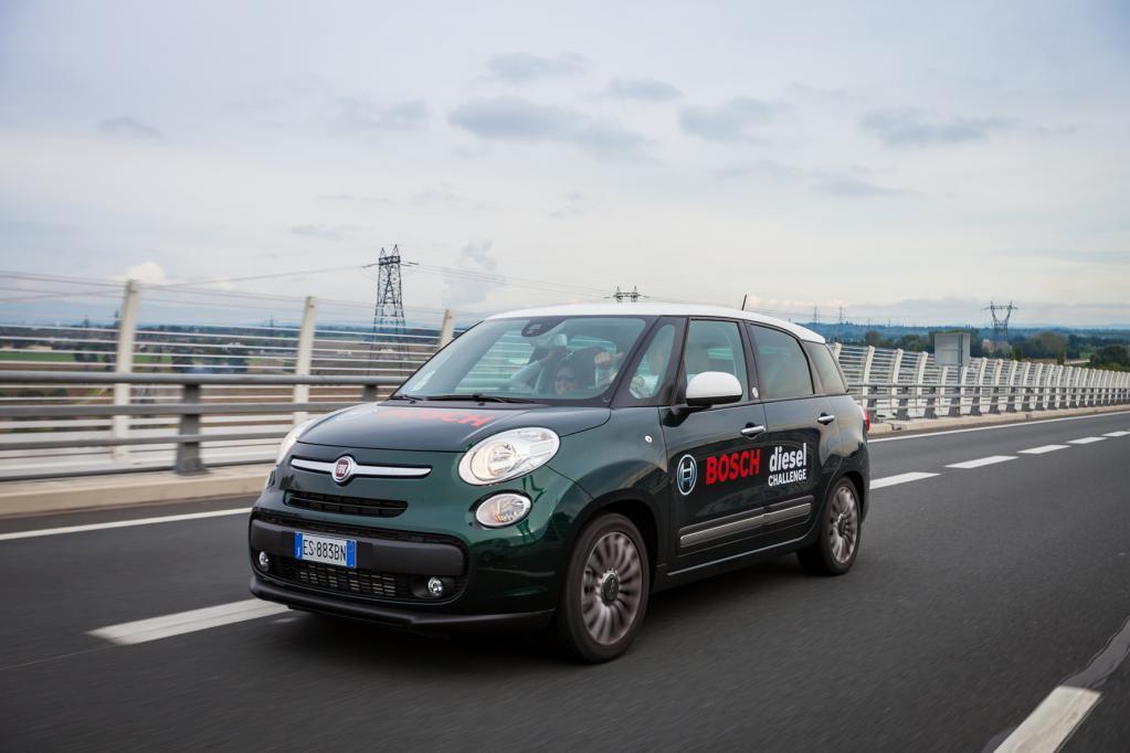 Fiat 500L Living fährt mit 2,63 Liter hundert Kilometer