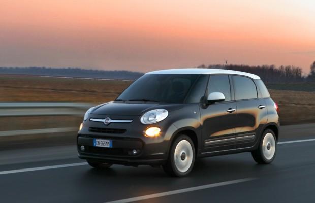 Fiat 500L jetzt auch mit Erdgasantrieb