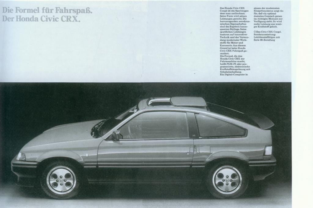 Honda CRX ab 1984