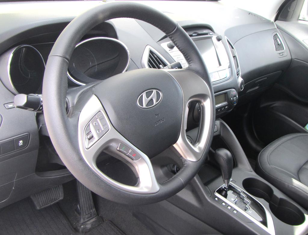 Hyundai ix35 Fuel Cell: Blick ins Cockpit.