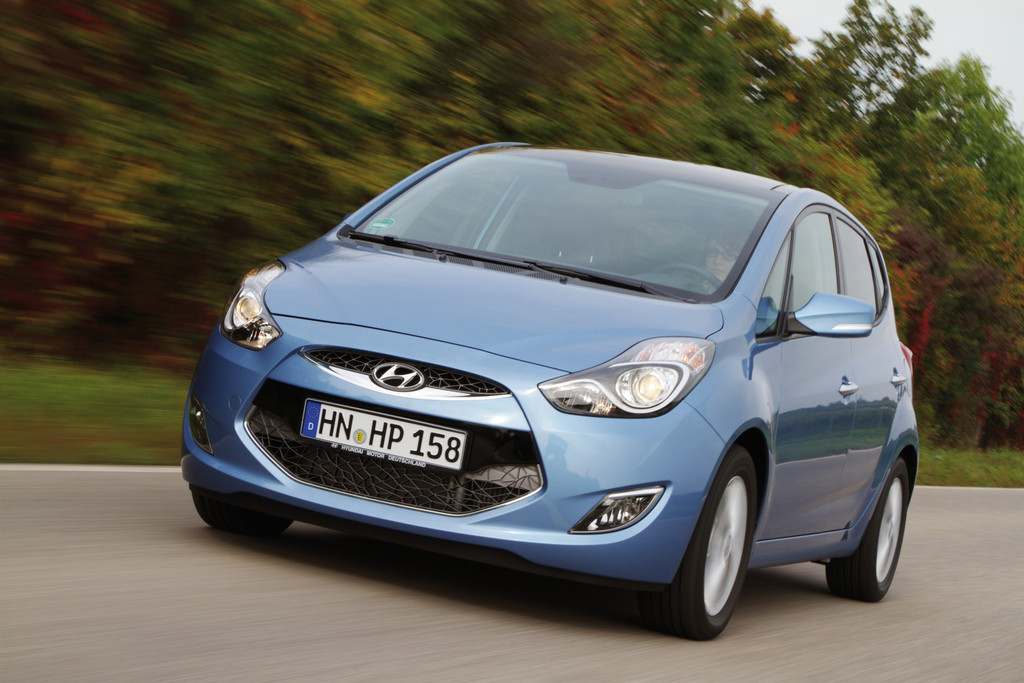 Hyundai wertet ix20 auf