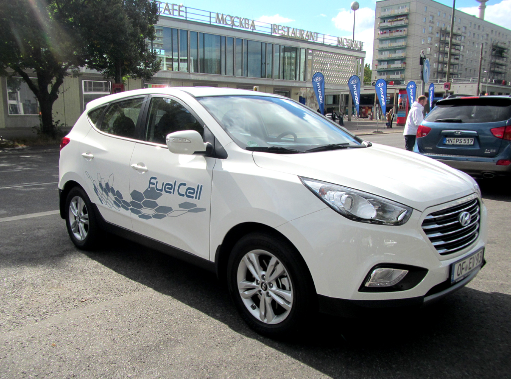 Hyundais ix35 Fuel Cell läuft bereits in Serienproduktion.
